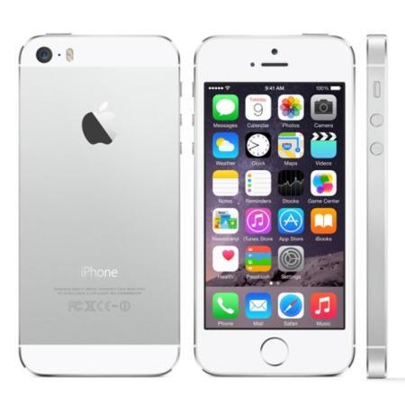 "Grade A Apple iPhone 5s Silver 4"" 16GB 4G SIM Free"