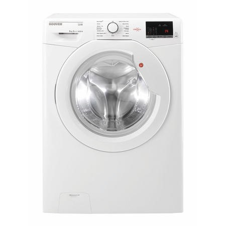 Refurbished Hoover DHL 1482D3 NFC Freestanding 8 kg 1400 Spin Washing Machine - White