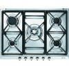 Smeg SE70SGH-5 Classic 70cm Gas Hob with Cast Iron Pan Stands