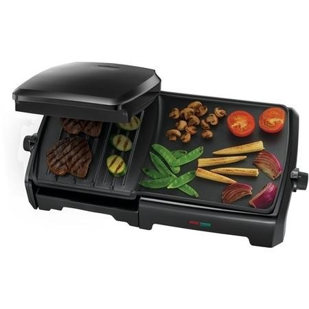 George Foreman 23450 Variable Temperature Large Grill & Griddle - Black