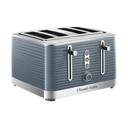Russell Hobbs 24383 Inspire Four Slice Toaster - High Gloss Grey