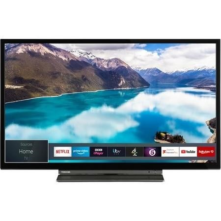 "Toshiba 24WL3A63DB 24"" HD Ready Smart LED TV with Freeview Play"