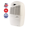 EBAC 2650e 18L Dehumidifier offers energy saving smart controls for up to 4 bed room houses with 2 year warranty