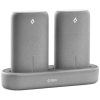 ttec PowerStones Trio Powerbank Set - 2 x 5000mAh - Grey w/Charging Dock