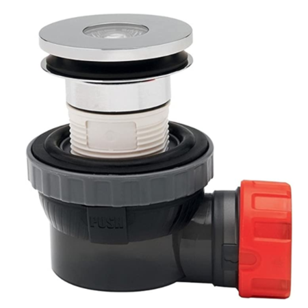 Wirquin Nano Standard 6.7 Basin Waste and Trap
