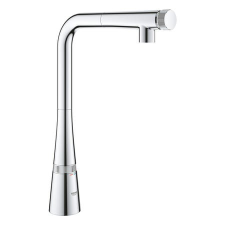 GRADE A1 - Grohe Zedra Smartcontrol Kitchen Sink Mixer Tap with Pull Out Spray - 31593002