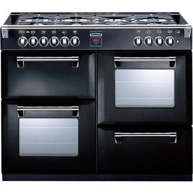 Stoves Richmond 1000DFT 100cm Dual Fuel Range Cooker - Black