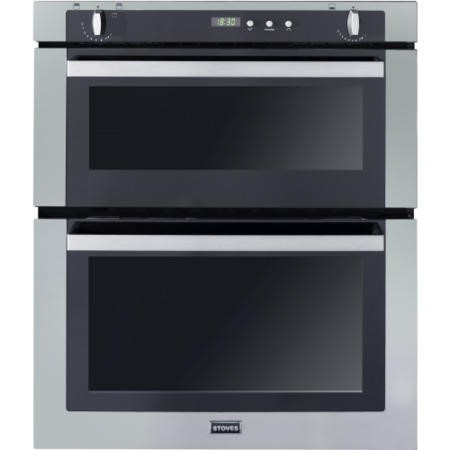 Stoves SGB700PS Gas Built Under Double Oven in Stainless Steel