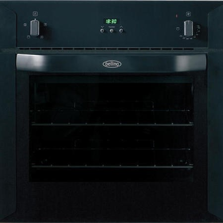 Belling BI60FP Fanned Electric Built-in Single Oven - Black