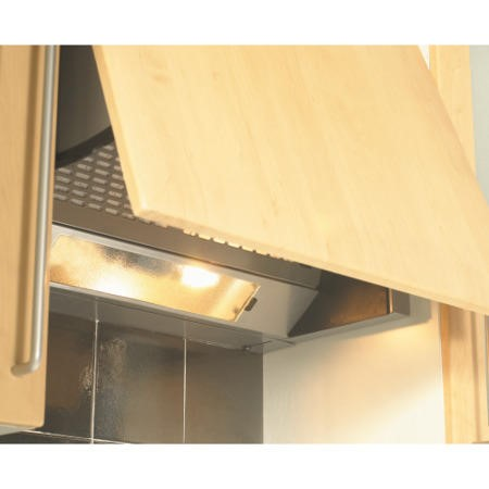New World UIH60S 60cm Integrated Cooker Hood Grey