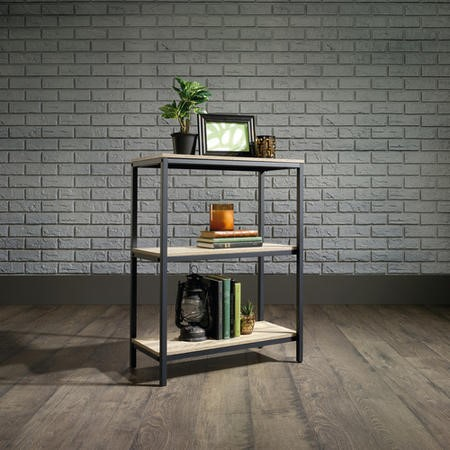 Industrial Style 3 Shelf Bookcase