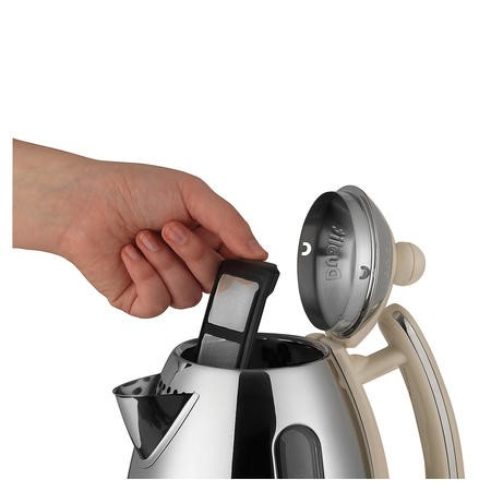 Dualit 72402 Cordless 1.5L Jug Kettle - Cream and Stainless Steel