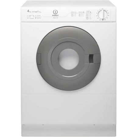 INDESIT IS41V 4kg Compact Front Vented Tumble Dryer - Polar White
