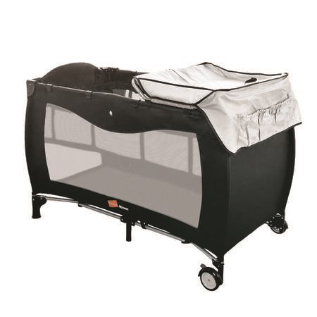 Travel Cot + Playpen with Mattress Bassinet and Changing Table by Babyway