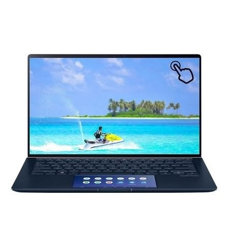 Refurbished Asus ZenBook UX434FAC Core i5-10210U 8GB 16GB Intel Optane 256GB 14 Inch Windows 10 Touchscreen Laptop