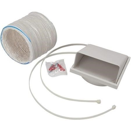 CDA AED51 125mm x 1m 5inch Flexible Ducting Kit