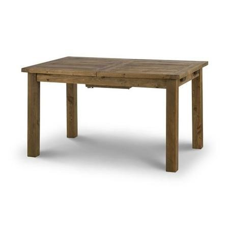 Solid Wood Large Extendable Rectangle Dining Table - Julian Bowen Aspen Range