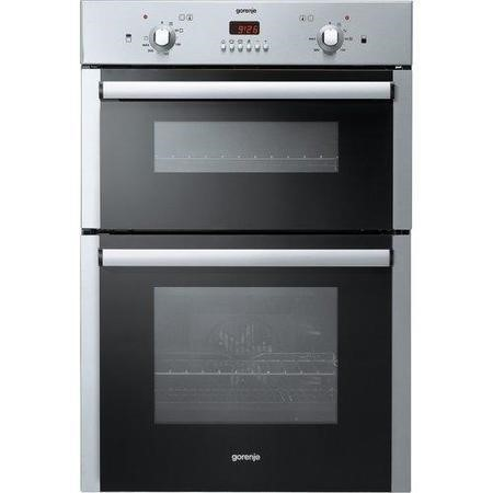 Gorenje BD2116AX Electric Built In Double Oven - Stainless Steel