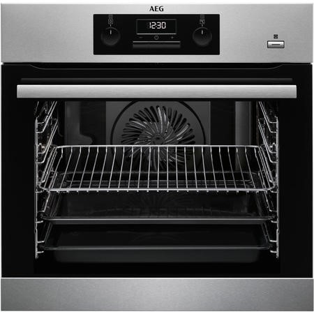 AEG BES351010M SteamBake Multifunction Oven Stainless Steel