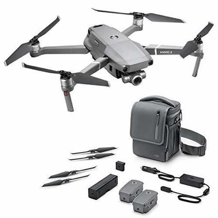 DJI Mavic 2 Zoom 4K Drone with Fly More Kit