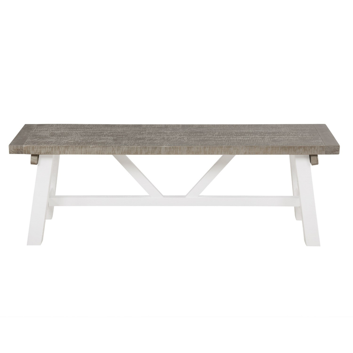Extendable Wood Dining Table In White Grey Wash With 4 Chairs 1 Bench Fawsley Buyitdirect Ie