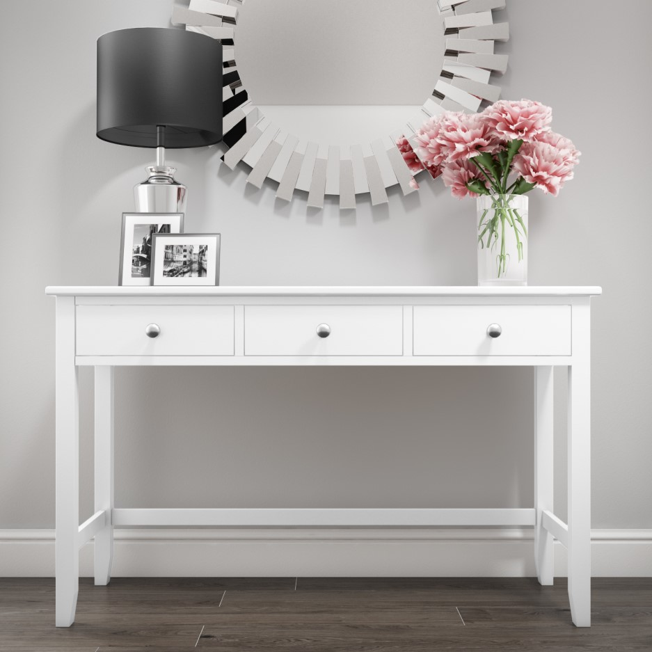 promo code f7170 ffe94 Harper White Solid Wood Dressing Table