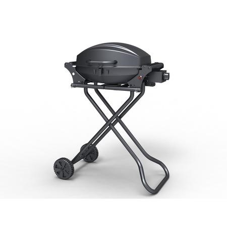 The Louisiana Portable One Burner Gas BBQ Grill with Trolley
