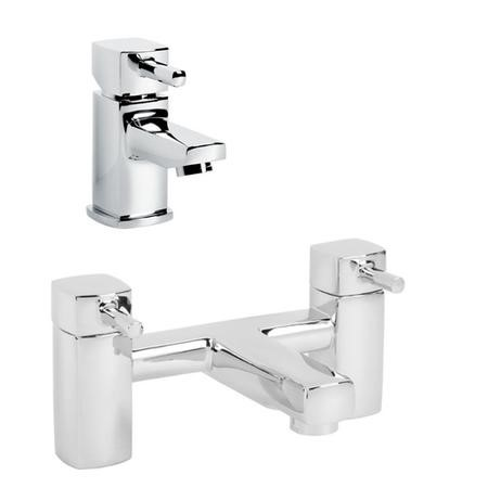 Form Basin Mixer and Bath Filler Tap Pack