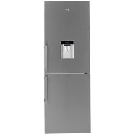 Beko CFP1675DX Frost Free Freestanding Fridge Freezer With Water Dispenser - Stainless Steel