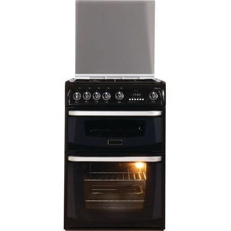 Hotpoint CH60GCIK Carrick Double Oven 60cm Gas Cooker - Black