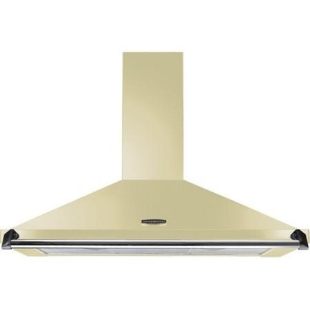 Rangemaster CLAHDC90CRC 92820 Classic 90cm Chimney Cooker Hood Cream And Chrome