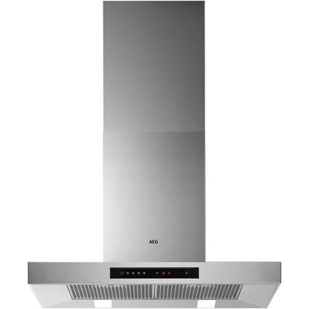 AEG DBB5760HM 70cm Stainless Steel Wall Mounted Box Chimney Hood with Touch Controls