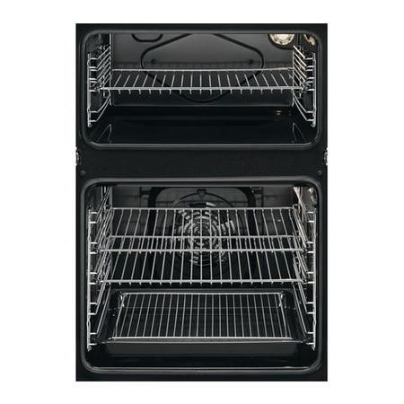 AEG DEB331010M Multifunction Double Oven and Fully Programmable Timer - Anti-fingerprint Stainless Steel