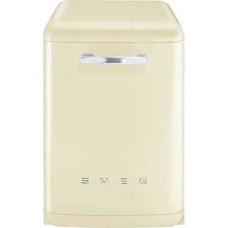 Smeg 50's Retro Style DF6FABCR 13 Place Freestanding Dishwasher - Cream