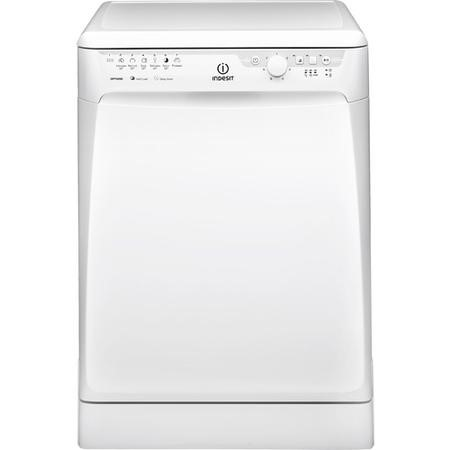 INDESIT DFP27B10 13 Place Freestanding Dishwasher with Quick Wash - White