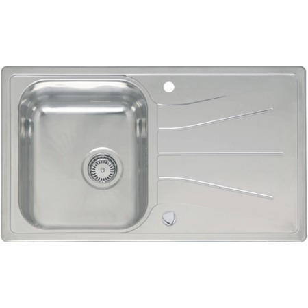 Reginox DIPLOMAT10 1.0 Bowl Reversible Inset Stainless Steel Sink