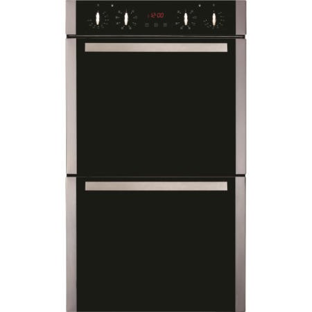 CDA DK1151SS Tall Electric Built-in Double Oven Stainless Steel