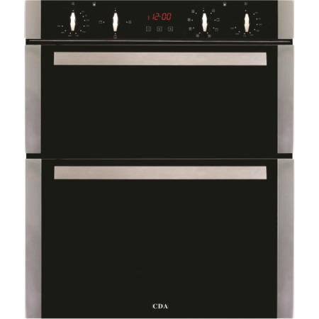 CDA DK751SS Electric Built Under Double Oven - Stainless Steel