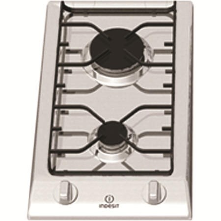 Indesit DP2GSIX Prime 2 Burner Domino Gas Hob  in Stainless steel