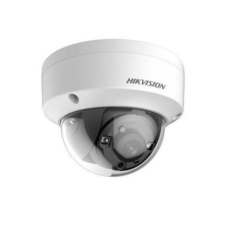 Hikvision 5MP Vandal Proof Analogue Dome Camera - 1 Pack