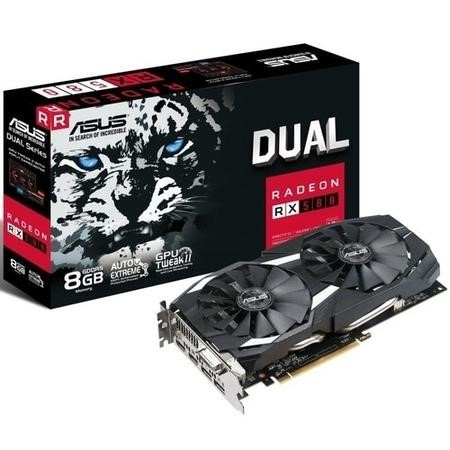 ASUS Dual Radeon RX 580 8GB GDDR5 OC Graphics Card
