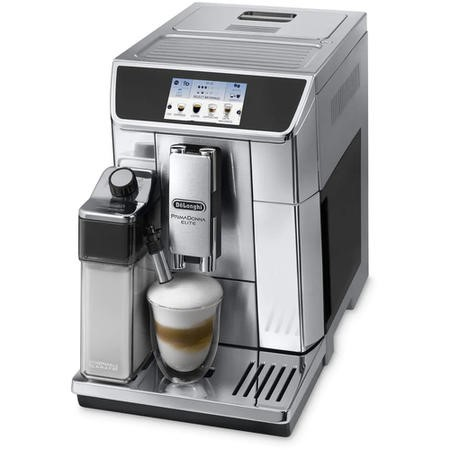 Delonghi ECAM650.75MS PrimaDonna Elite Fully Automatic Coffee Machine - Stainless Steel