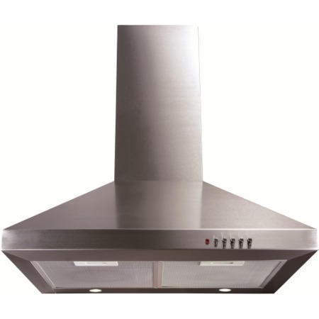 CDA ECH61SS Level 1 60cm Wide Chimney Cooker Hood Stainless Steel