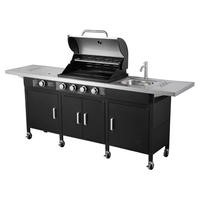 The Texas Outdoor Elite BBQ Kitchen with Free Accessories