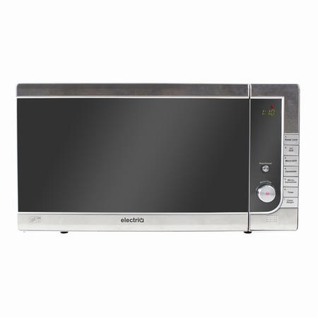 electriQ 40L 1000W Digital Combination Freestanding Microwave in Stainless Steel