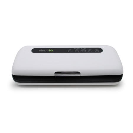 electriQ Food Saver Vacuum Sealer Machine with Gentle Setting - White