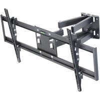 "electriQ Multi-Action Articulating TV Wall Bracket for TVs up to 70"" with VESA up to 800 x 400mm and 45kg Load"
