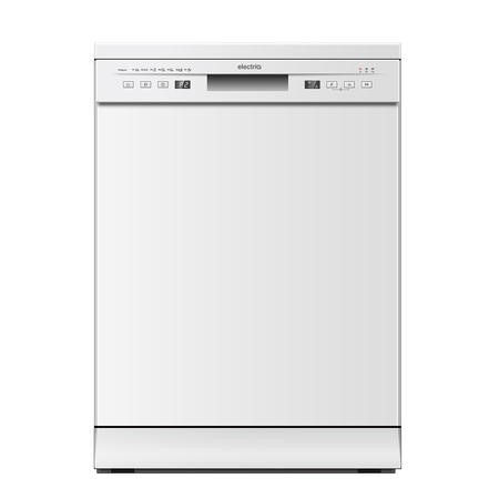 electriQ Freestanding Dishwasher - White