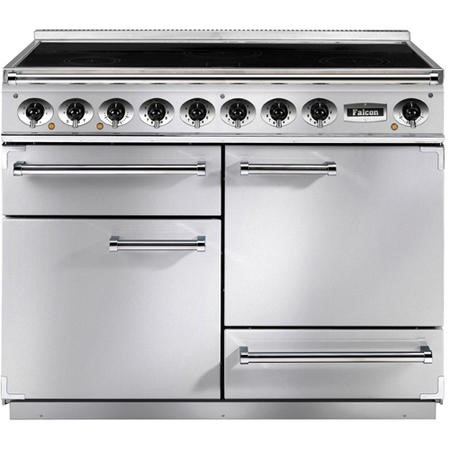 Falcon F1092DXEISSC-EU Deluxe 110cm Electric Range Cooker With Induction Hob - Stainless Steel