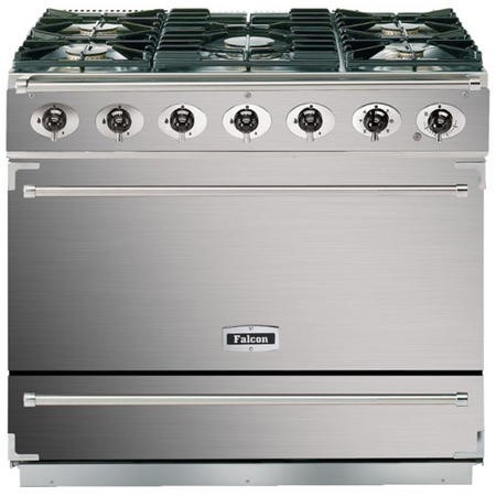 Falcon F900SDFSSCM-EU Dividable Single Oven 90cm Dual Fuel Range Cooker - Stainless Steel